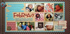 double page layout ideas | Scrapbook Pages - Double Page Layout