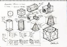 Design Journal SOS: Drawing Basics - Isometric Drawing - Practice