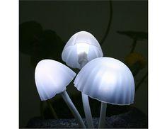 Avatar mushroom nightlight. US plug. Comes in a rock-shaped resin base. $16.50
