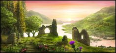 Highland Ruin by waltervermeij