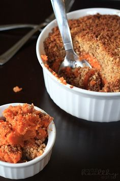 Garnet Yams with Blis Maple Syrup and Maple-Sugar Streusel | Recipe ...