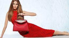 Fendi SS14 www.fashion-marketer.com #spring #summer #2014 #SS14 #fendi #karl #lagerfeld #ads #campaign #fashion #fashionmarketer
