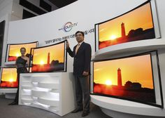 Samsung Launch sales of Curved OLED TVs