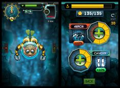 Aquahamster (Iphone game) by Anton Mangevicius, via Behance