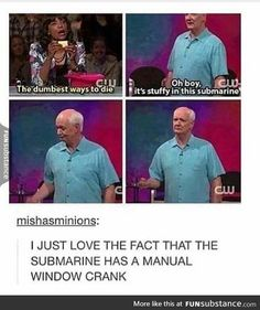 I miss the old Whose Line because of the element Drew added to the show, but I'm glad that Colin is still Colin, except maybe for a little bit more hair.