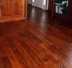 BuildDirect: Hardwood Flooring Handscraped Tropical Collection Wood Flooring   Acacia Golden