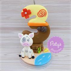 Vela decorada Moana   Paty s Biscuit   Elo7