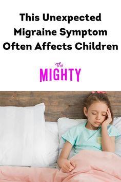 This Unexpected Migraine Symptom Often Affects Children #migraine #chronicpain Chronic Illness, Chronic Pain, Fibromyalgia, Types Of Migraines, Migraine Attack, Feeling Nauseous, Medical Help, Abdominal Pain, Invisible Illness