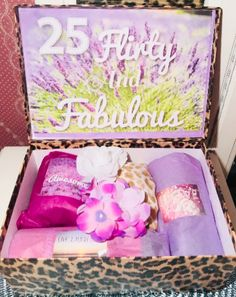 25th Birthday YouAreBeautifulBox. 25 Birthday Girl. — YouAreBeautifulBox