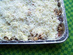 Lasagne casserole - freezer friendly