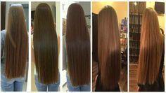 Si quieres un cabello largo al igual que mi hermana solo tienes que aplicar esto en tu cabello, pero tendrás que dejarlo de usar de tanto que crecerá tu cabello.