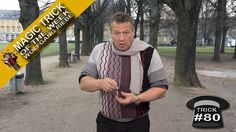 Magic Trick of the Week #80 (Chalk Paddle) with Wolfgang Riebe