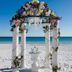 Beach wedding ceremony :)  Keywords: #weddings #jevelweddingplanning Follow Us: www.jevelweddingplanning.com  www.facebook.com/jevelweddingplanning/