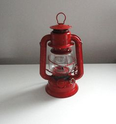 Lantern Winged Wheel Number 50 by Dietz Red Farmhouse by KimBuilt, $16.00
