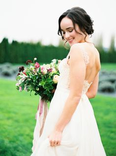 Fine Art Film Photography | Seattle Film Wedding Photographer | Sarah Carpenter Photography | Woodinville Lavender