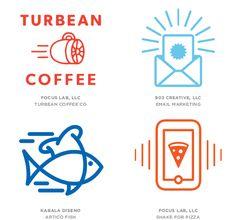 2014 Logo Trends: As novas tendências em design de logos — Shutterstock Blog Brasil