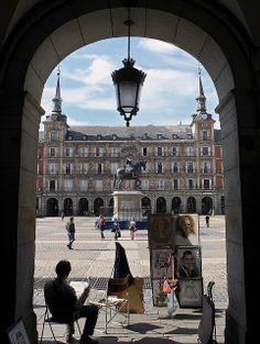Plaza Mayor (06/06/2013) | Photo: Saúl Tuñón Loureda. España