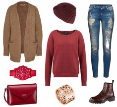 #Herbstoutfit LOVE ♥ #outfit #Damenoutfit #outfitdestages #dresslove