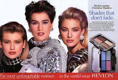 Vintage Revlon ad (1980s)