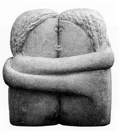 Brancusi The Kiss.Brancusi, Constantin - 1916 The Kiss (The Philadelphia Museum of Art, USA) Land Art, Modern Sculpture, Sculpture Art, The Kiss Sculpture, Garden Sculpture, Brancusi Sculpture, Constantin Brancusi, Beaux Arts Paris, Philadelphia Museum Of Art