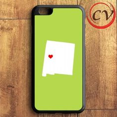 Green State Heart iPhone 6 Plus | iPhone 6S Plus Case