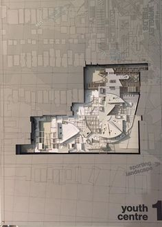Architectural drawing/Model by a student from the Bartlett School of Architecture in London. http://ift.tt/29DzkQi