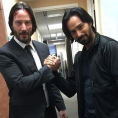 "keanuital: "" mackkuhr: Our last day on NYC unit💪🏻John Wick: Chapter 2 blasts into theaters this weekend! Hope everyone loves it! Note: Mack Kuhr was stunt performer on John Wick X "" Keanu Reeves John Wick, Keanu Charles Reeves, Titanic Rose, Baba Yaga, John Wick Movie, Keanu Reaves, Stunt Doubles, Actrices Hollywood, Jackie Chan"