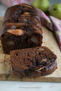 Plumcake cioccolato, mascarpone e pere