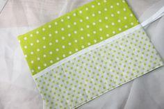 Stifterollen - Stifterolle in Grün/ weiß mit Punkten - ein Designerstück von galli-113 bei DaWanda