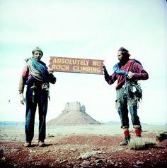 absolutely no rock climbing!
