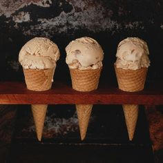 Creamy, delicious ice cream made with Speculoos Cookie Butter.