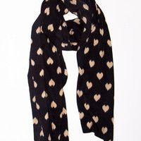 Heart to Heart Scarf - How Cute Is This ?