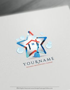 Create a Housekeeper Logo Free – House Cleaning Logo Templates