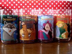 Disney Pocahontas Burger King Glasses. Totally had these