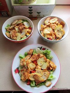 Healthy Salad Recipes, Tasty Dishes, Barbecue, Potato Salad, Food And Drink, Lunch, Meals, Cooking, Ethnic Recipes