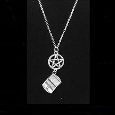 Supernatural Themed; Sam's Laptop and Pentacle Necklace. | eBay