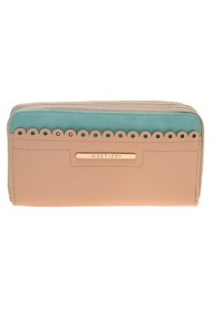 Westies - Cartera Zip Around - Beige - Hbcomoxwe - $ 849.00 en MercadoLibre