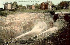 Seattle's Denny Hill regrade, 1909 HistoryLink.org- the Free Online Encyclopedia of Washington State History