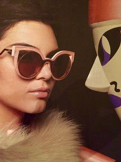#Fendi eyewear ad campaign 2015