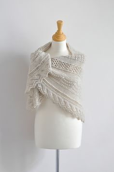 ...Northern Summer Shawl by Jo Kelly, as knit by SusanneS-vV...