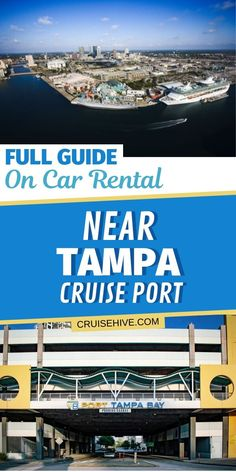 A guide on car rental near Tampa cruise port in Florida. Covering distance from the port, prices and more. Tampa Florida, Florida Vacation, Florida Travel, Cruise Vacation, Clearwater Florida, Naples Florida, Vacations, Cruise Excursions, Cruise Destinations