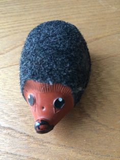 Tiny Vintage Nunu Baby Hedgehog Friction Toy by Eclectic4Kids