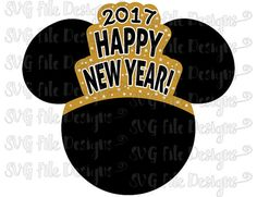 disney happy new year mickey mouse birthday minnie mouse mickey head new