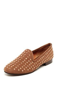 Matiko Lana Studded Loafer by Step Into Style on @HauteLook