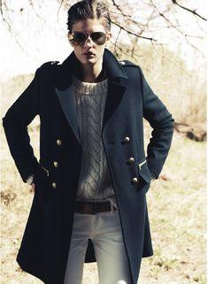 Tomboy Chic. Kendra Spears, Vogue Paris, October 2012.