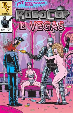 Robocop meets Showgirls. By BENJAMIN MARRA
