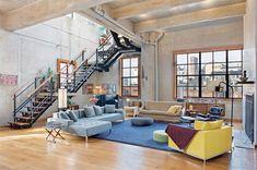 Loft sur le toit avec terrasse à New York