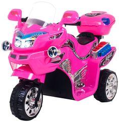 Ride On Electric Toy Girls Ferrari Girls Pink Princess