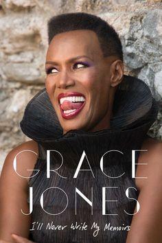 Grace Jones anuncia autobiografia com memórias íntimas