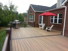 All Decked Out- Custom Decks, Fences and Outdoor Living Spaces Above Ground Pool, In Ground Pools, Decking Ideas, Deck Builders, Custom Decks, Stamped Concrete, Outdoor Living, Outdoor Decor, Fences